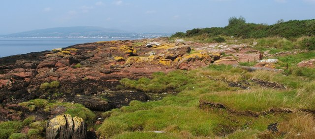 An unconformity at Ardmore Point