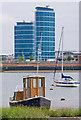 TQ7570 : Towards The Quays by Ian Capper