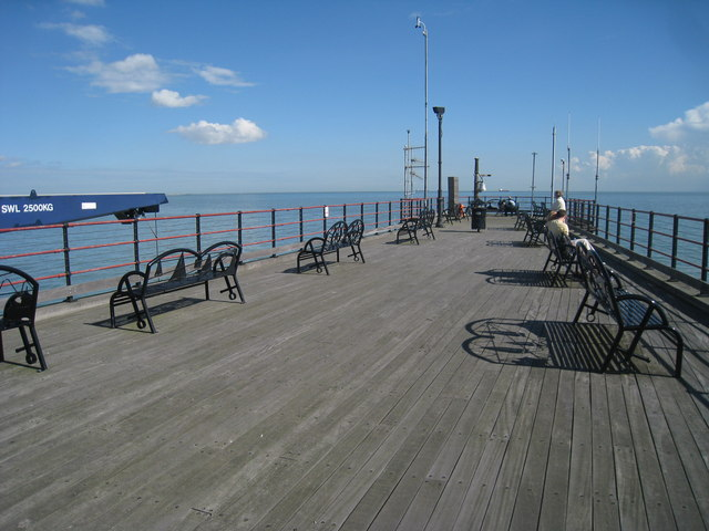 End of Southend Pier
