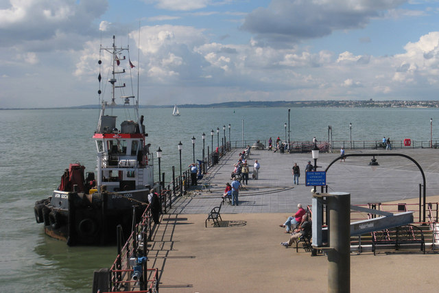 End of Southend-on-Sea Pier