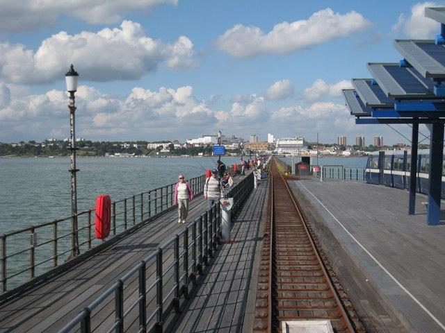 Railway on Southend-on-Sea Pier