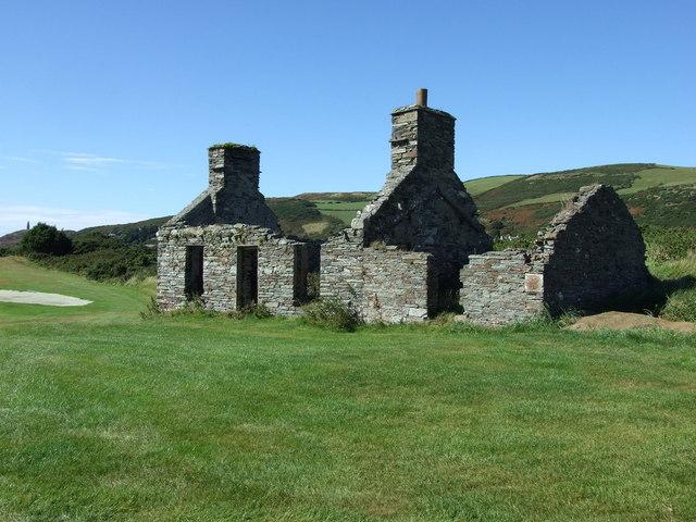 Ruins of old farmhouse
