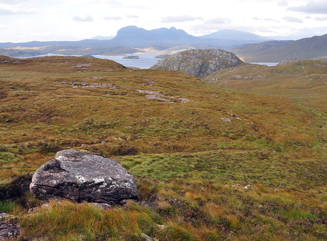 North slope of Meall a' Chaorainn