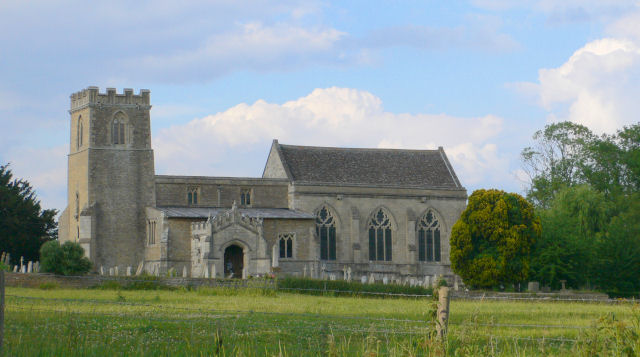 Cotterstock Church