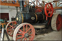 TM0458 : Burrell Traction Engine by Ashley Dace