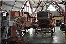 TM0458 : Threshing Machines by Ashley Dace