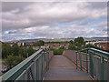 NS5066 : Footbridge, Arkleston by wfmillar