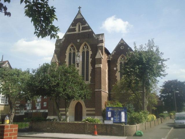 St Barnabas Church Mitcham