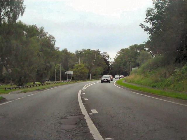 A49, Tiverton