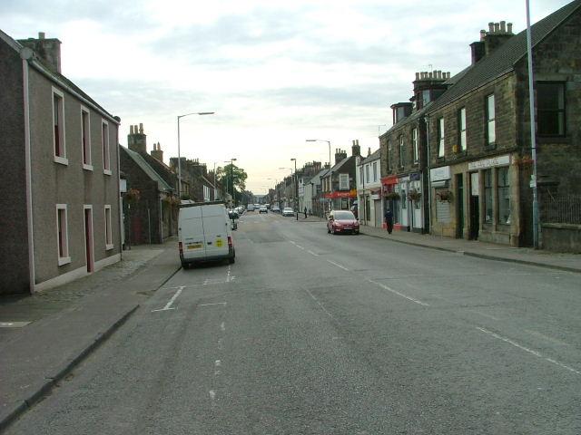 High Street, Leslie
