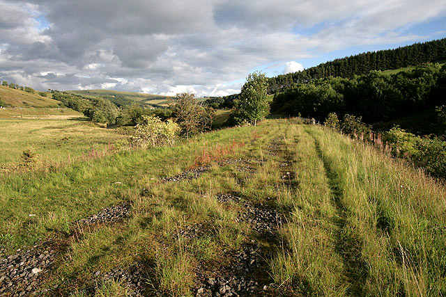 The trackbed of the former Waverley Railway Line