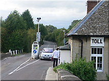 SP4408 : Swinford Bridge Toll by Mike Todd