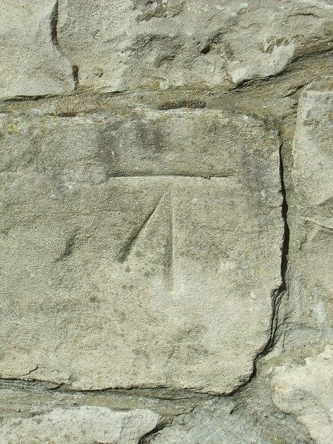 Benchmark on John Street, Llandudno by Meirion