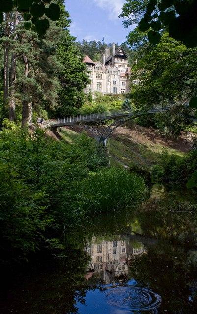 Cragside/Beneath the Bridge/A Fish Jumped