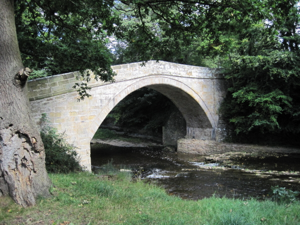 Earl's Bridge over Devil's Water, Dilston