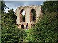 SP3780 : Remains of Caludon Castle, Wyken by John Brightley