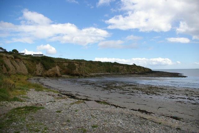 Broad Strand cliffs