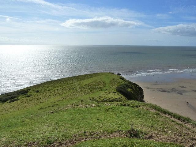 Trwyn y Witch point, Dunraven Bay