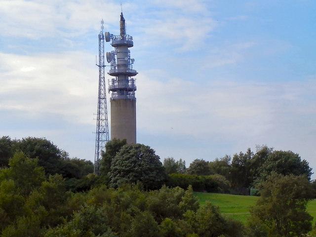 Heaton Park BT Microwave Tower