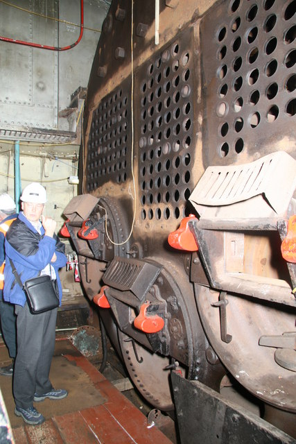 Steam tug Daniel Adamson - Scotch boiler