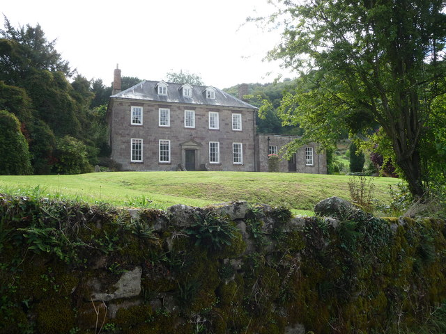 Bigsweir House overlooking the River Wye