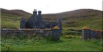 NL5682 : Old schoolhouse, Mingulay by Gordon Hatton