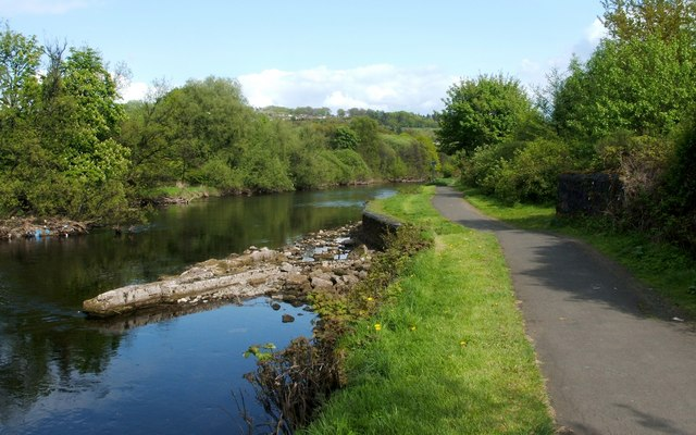 The River Leven: a skimmer