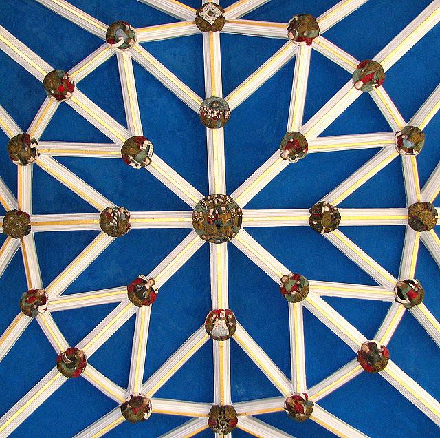 St Helen's Bishopgate, Norwich - roof bosses