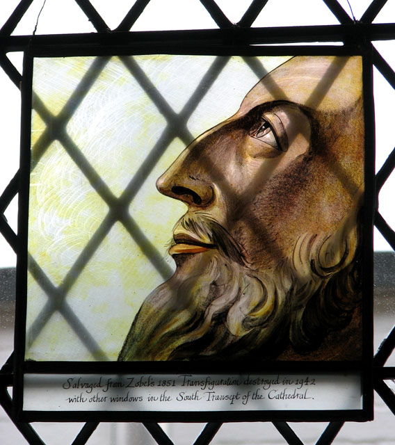 St Helen's Bishopgate, Norwich - stained glass