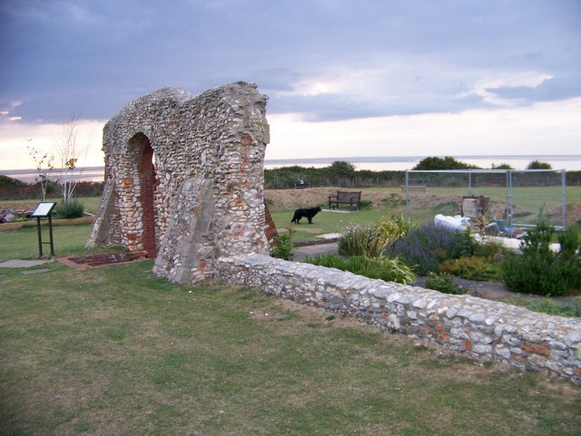 Remains of St Edmund's Chapel, Hunstanton