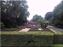 TQ2479 : Garden at the rear of Holland House by Robert Lamb