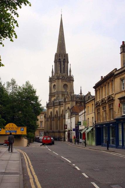 Walcot Street in Bath