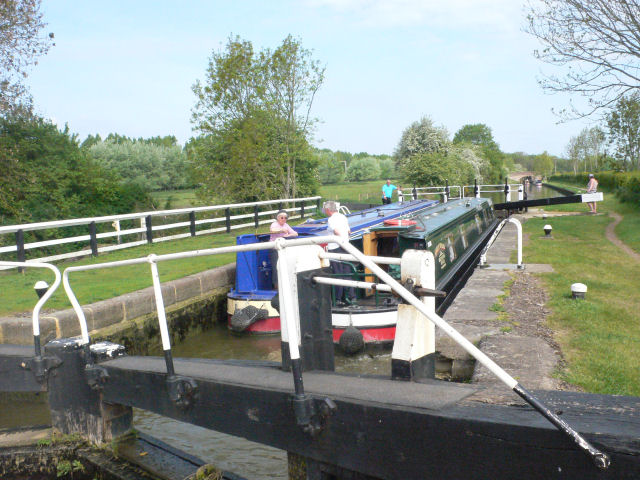 Long Buckby Lock 11 by Mike Todd