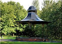 J3472 : Bandstand, Ormeau park, Belfast (1) by Albert Bridge