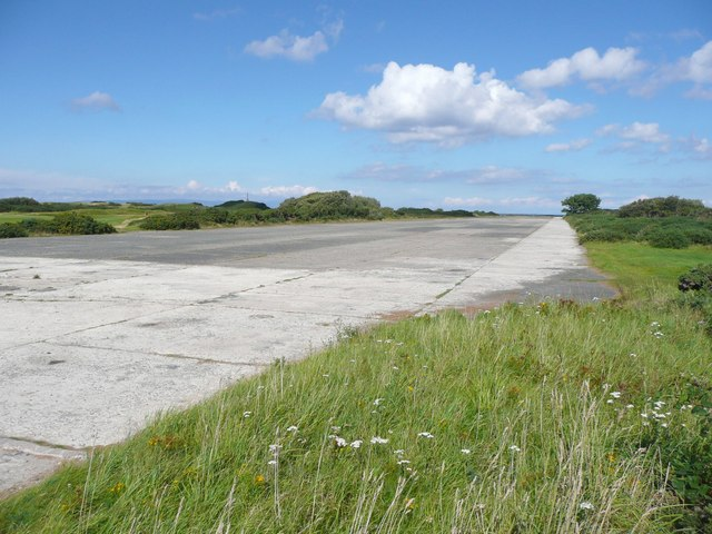 Former airfield runway, Turnberry
