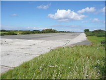 NS2006 : Former airfield runway, Turnberry by Humphrey Bolton