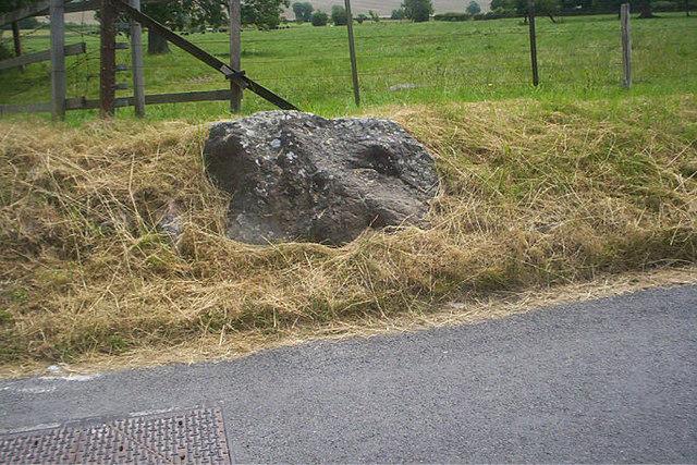 Sarsen Stone in Avebury Trusloe