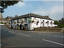 SD5464 : Black Bull Inn, Brookhouse by Alexander P Kapp