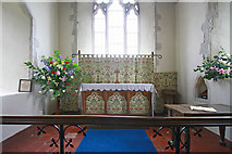 TR1439 : St Mary & St Radegund, Postling, Kent - Sanctuary by John Salmon