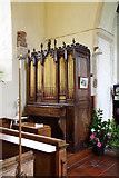 TR1439 : St Mary & St Radegund, Postling, Kent - Organ by John Salmon