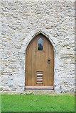 TR1439 : St Mary & St Radegund, Postling, Kent - Doorway by John Salmon