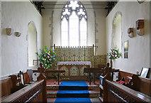 TR1439 : St Mary & St Radegund, Postling, Kent - Chancel by John Salmon