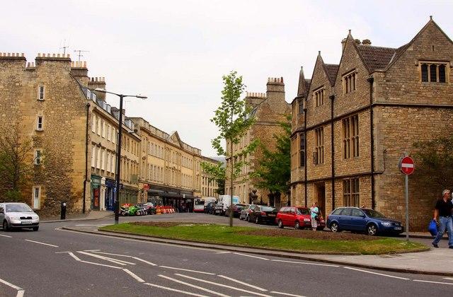 Westgate Buildings in Bath