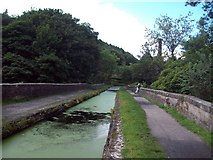SK3155 : Aqueduct near High Peak Junction by Jonathan Clitheroe