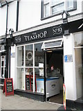 TM2863 : No 10 The Tea Shop by Basher Eyre