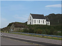 NM7582 : Church of Our Lady of the Braes at Polnish by Dave Spicer