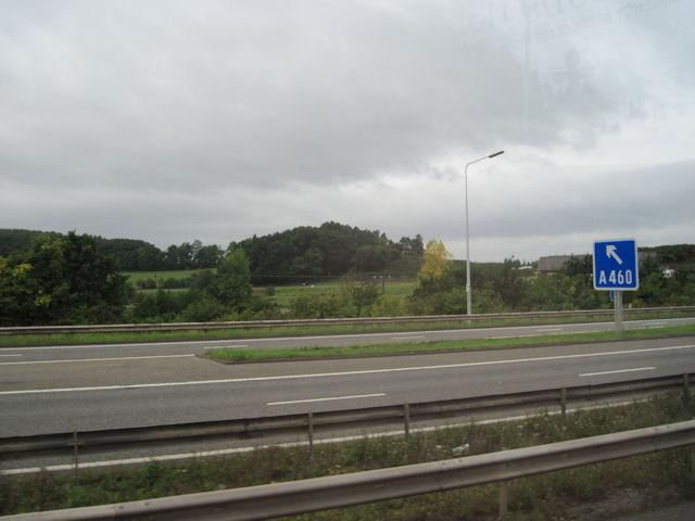M54 Junction 1 Westbound slip road
