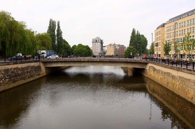 Churchill Bridge over the River Avon