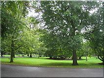 SU4212 : Palmerston Park - Southampton by Sandy B