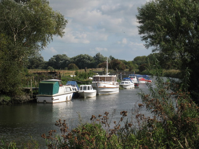 Boats on River Stour